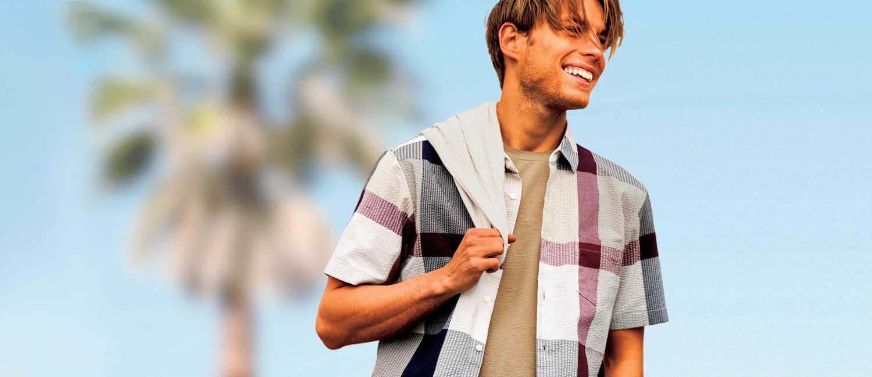 夏を先取りするなら、〈ブラックレーベル・クレストブリッジ〉で!爽やか男の着こなしはいつだって涼しげ!