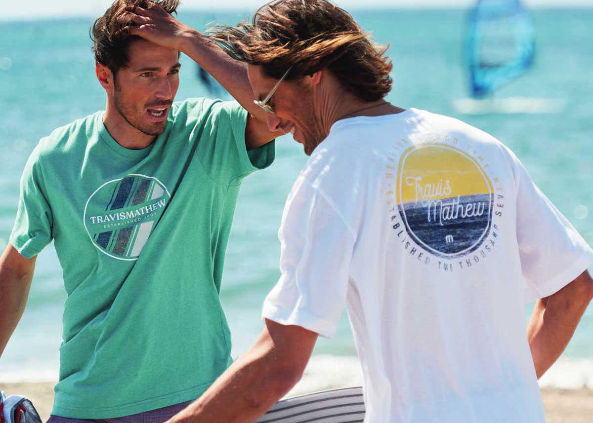夏の海の主役はやっぱり 西海岸ノリのTシャツ!