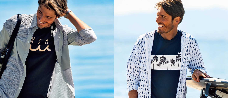 〈ムータ マリン〉で個性あふれる夏のカジュアルを!海を遊び尽くす大人のためのアクティブで快適な服!