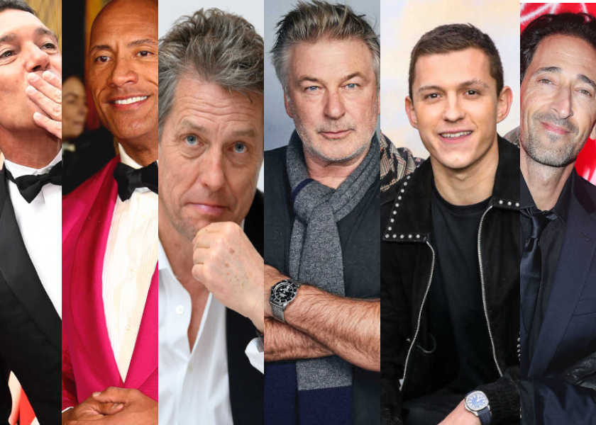 【まとめ6選】人気ハリウッド俳優たちが愛用している時計とは!?