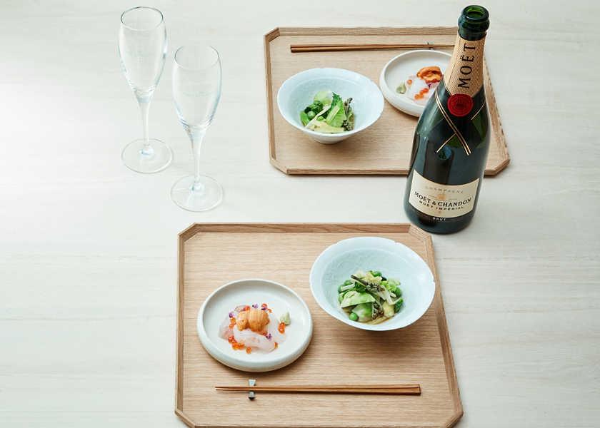 """""""モエ アンペリアル""""と和食を楽しむために、知っておきたいポイントとは?"""