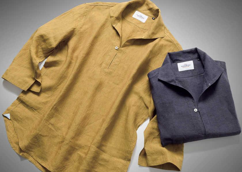 FOCUS ON 今月注目したいモノ・コトデートで好感度アップはフェード感のあるカプリシャツで!