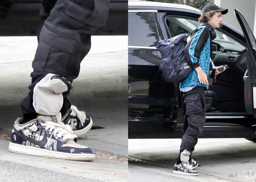 【スニーカー】若手俳優T・シャラメが履く現在価格高騰中の〈ナイキ SB〉とは?
