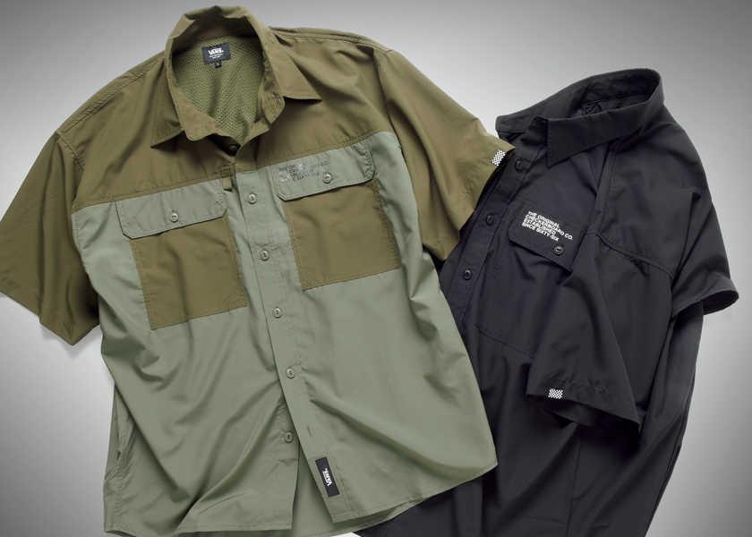 """FOCUS ON 今月注目したいモノ・コト大人のミリタリーシャツは""""高機能+デザイン性""""があるといい!"""