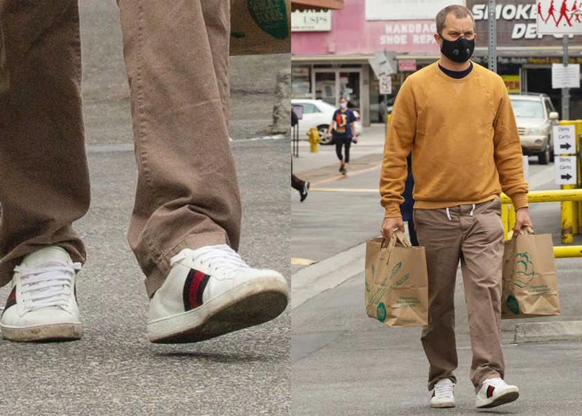 【スニーカー】俳優J・ジャクソンが履くレトロでラグジュアリーな1足とは?