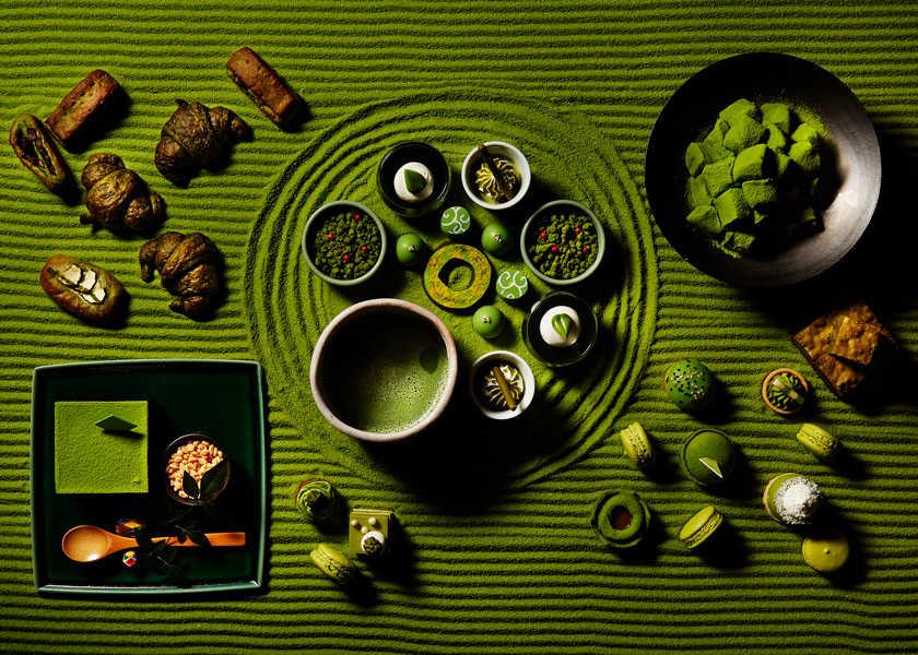 """週末限定のスイーツブッフェに行けば、抹茶に""""まみれる""""体験が待っている!"""