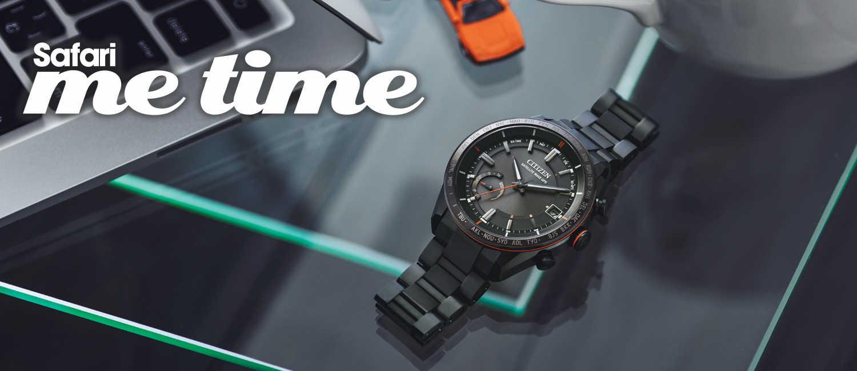 〈シチズン〉だから信頼できる。自分だけの時間にふさわしい腕時計。