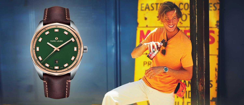 〈ファーブル・ルーバ〉のほどよく主張する1本!毎日の相棒にはこんなシンプル時計で!