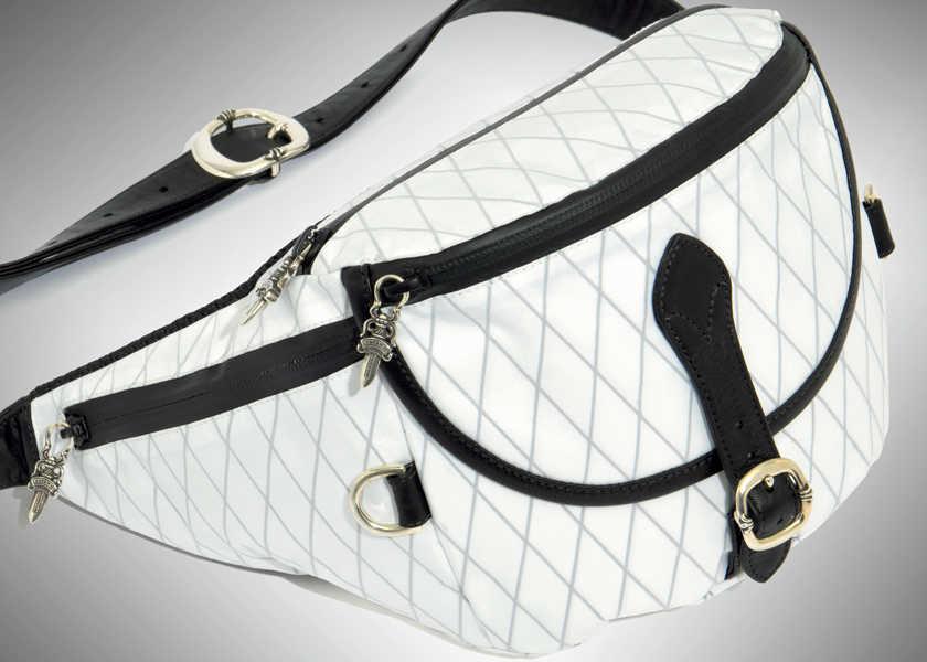 FOCUS ON 今月注目したいモノ・コトラグジュアリーなのにアクティブに使えるバッグ!
