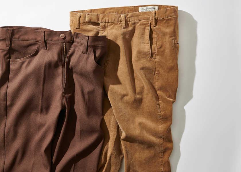 【着こなし例付き】 なぜ茶のパンツが黒パンツに代わる本命なのか?