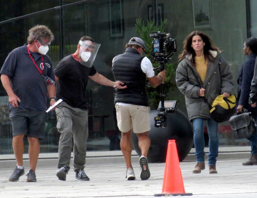 サンドラ・ブロックが撮影再開!華やかさを封印して挑んだ役とは!?