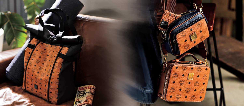 ライフスタイルで〝大小〞を選べる〈MCM〉の新作!週末を華やかにする大人のための品格バッグ!