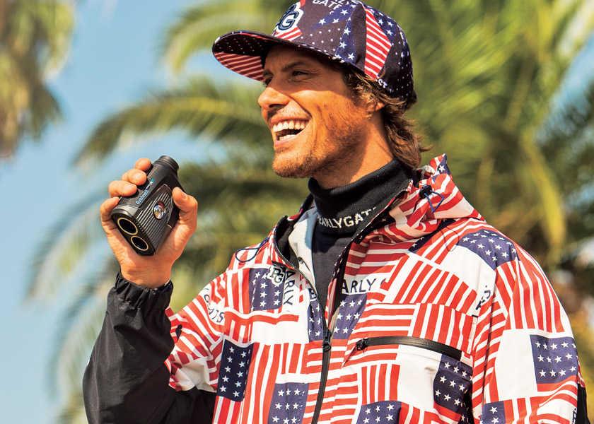 星条旗柄が効いた今季の〈パーリーゲイツ〉!〝アメリカ~ン〞な気分ならゴルフはもっと楽しい!