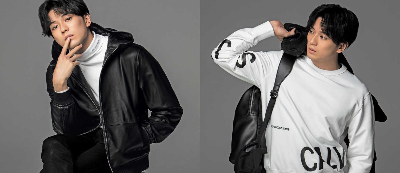 俳優・新田真剣佑が着る〈カルバン・クライン〉の新作!スポーティな着こなしをモダンなモノトーンで!