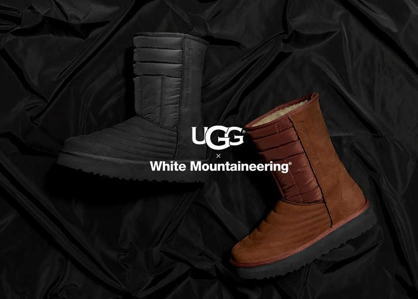 〈アグ〉×〈ホワイトマウンテニアリング〉の新作コラボは大人にこそ似合うシックなスニーカー&ブーツ!