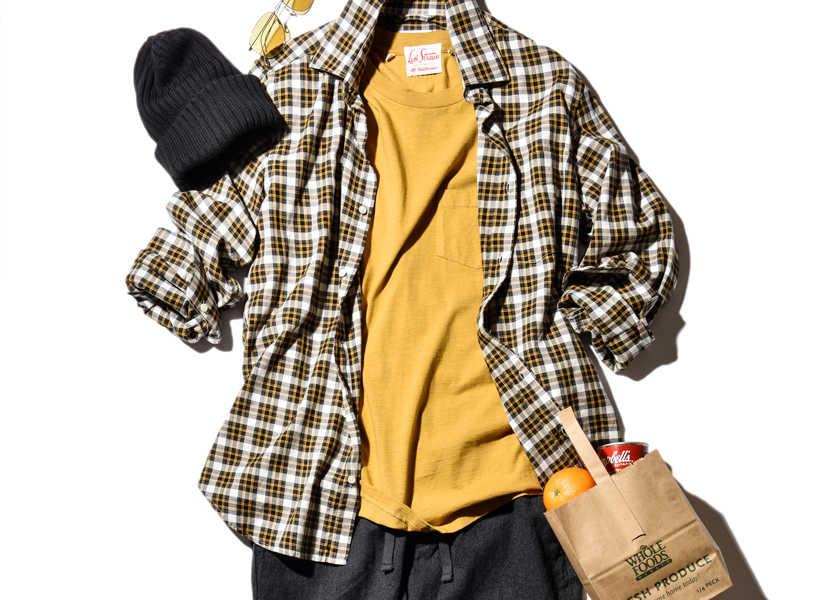 大人のお洒落コーデ集!いつものチェックシャツを秋らしく着るには!?