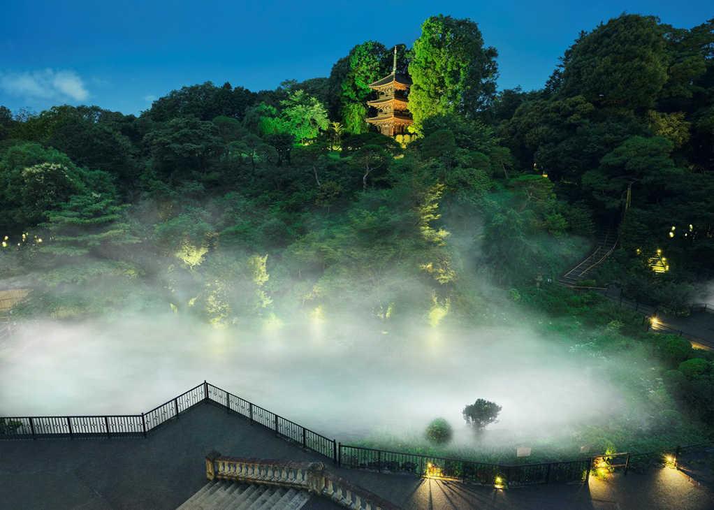 """東京に""""雲海""""が出現!〈ホテル椿山荘東京〉で奇跡の絶景体験を!"""