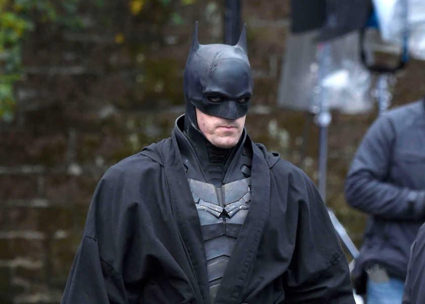 新バットマンの撮影現場を再びキャッチ!ロバート・パティンソンの姿も確認!