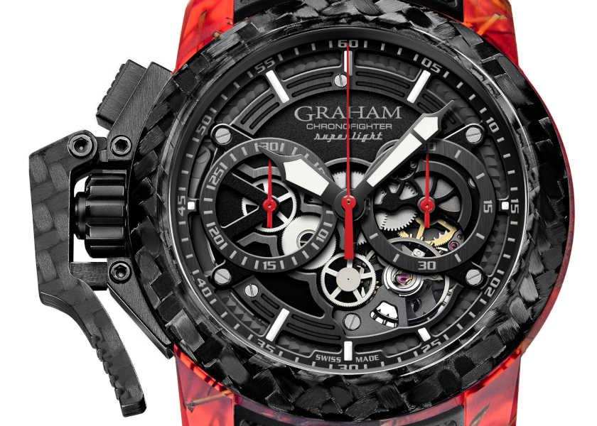 〈グラハム〉の新作は武骨だけど超軽量なトリガー時計!