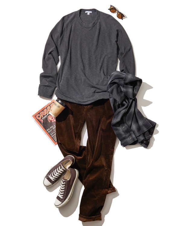 海男の定番パンツを街でも活用する方法!