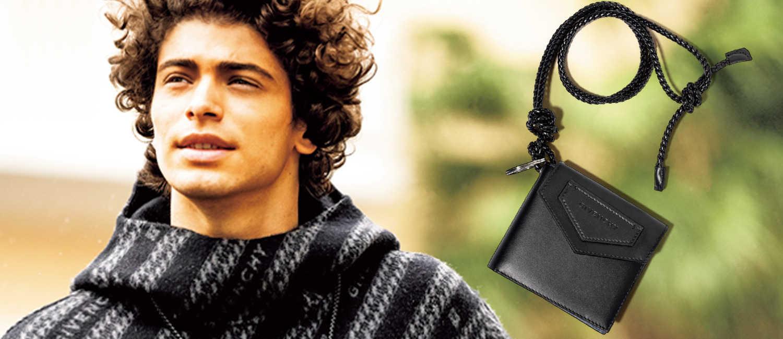 遊び心のあるデザインで魅せる〈ジバンシィ〉の新作!冬の着こなしに効くセンスのいい格上小物!