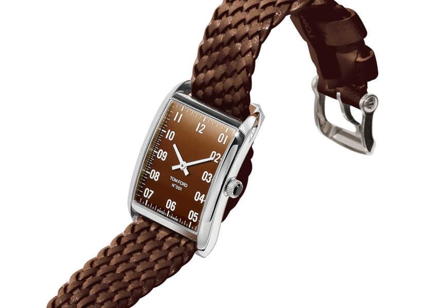 〈ロンハーマン〉と〈トム フォード タイムピース〉のコラボ時計は上品ブラウンが決め手!