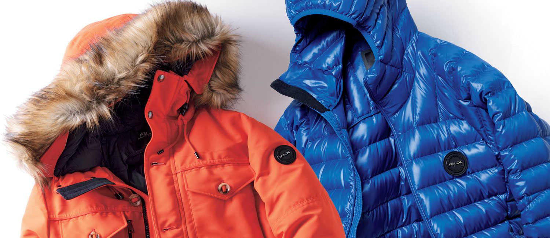 海でも街でも頼れる〈RLX ラルフ ローレン〉の1着を!贅沢で暖かなダウンが大人の休日を豊かにする!