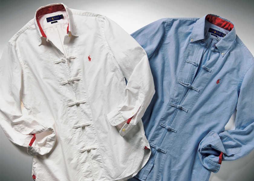 FOCUS ON 今月注目したいモノ・コト〈ポロ ラルフ ローレン〉×〈クロット〉アメリカの王道シャツに粋な遊びをプラスしたら?