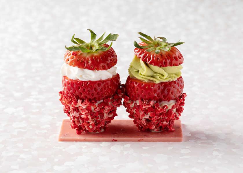 かわいすぎて彼女も悶絶⁉見た目も味も一流のイチゴ!