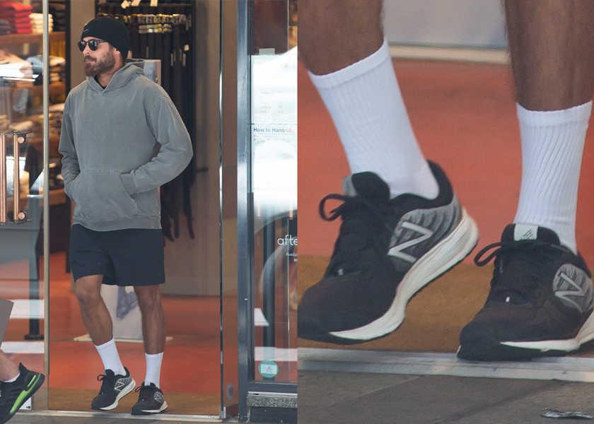【スニーカー】俳優ザック・エフロンが履く、〈ニューバランス〉の都会派ランシューとは?