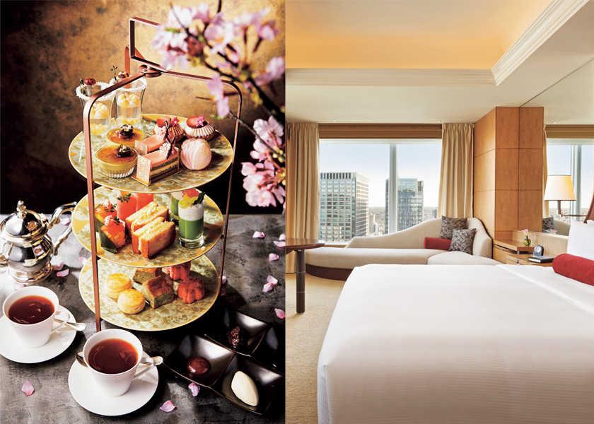 HOTな情報が男心を熱くする! ハートに火をつけて!〈シャングリ・ラ ホテル 東京〉リッチなアフタヌーンティーで部屋にいながらお花見気分!?