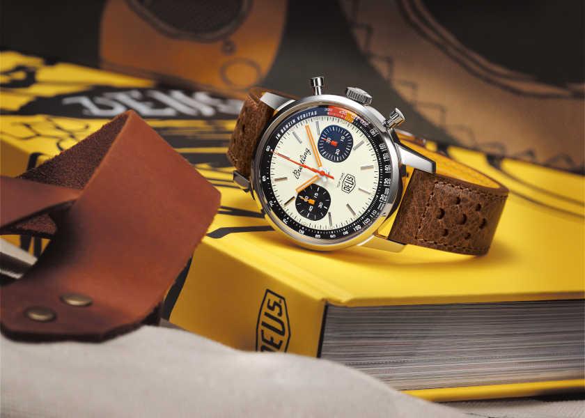 〈ブライトリング〉×〈デウス・エクス・マキナ〉!話題のコラボ時計は稲妻針にシビレる⁉