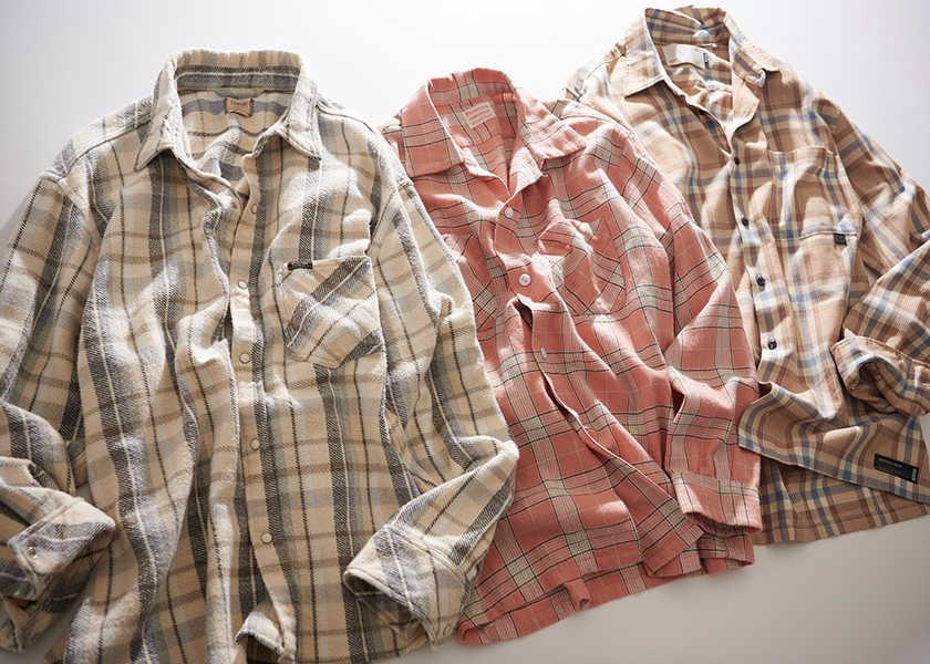 """チェックシャツをアップデイトするなら?春は""""明るめ&くすみ""""カラー!"""