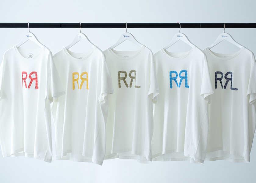 """〈ロンハーマン〉×〈ダブル アール エル〉別注、売切れ必至の""""ロゴTシャツ""""!"""