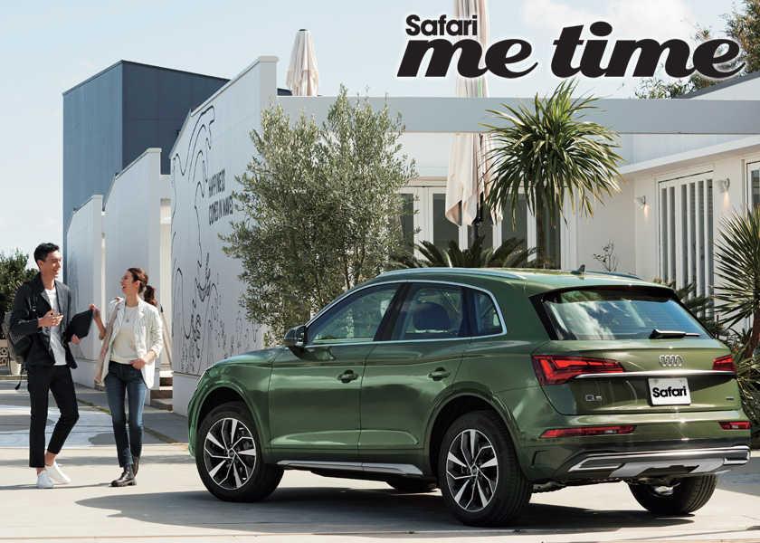 走りが楽しい新型Audi Q5で出発。仕事も休暇も思い出になる充実のワーケーションを。
