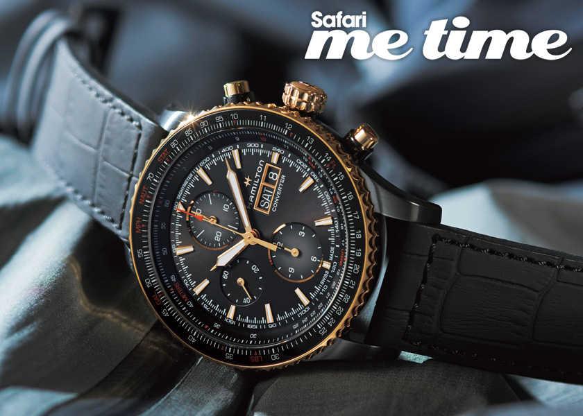 困難にも負けない魂が宿っている〈ハミルトン〉の腕時計。毎日をポジティブに過ごしたい大人にうってつけ。