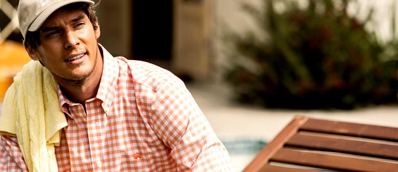 〈ブルックス ブラザーズ〉の新作シャツで休日は断然爽やかな男を狙う!