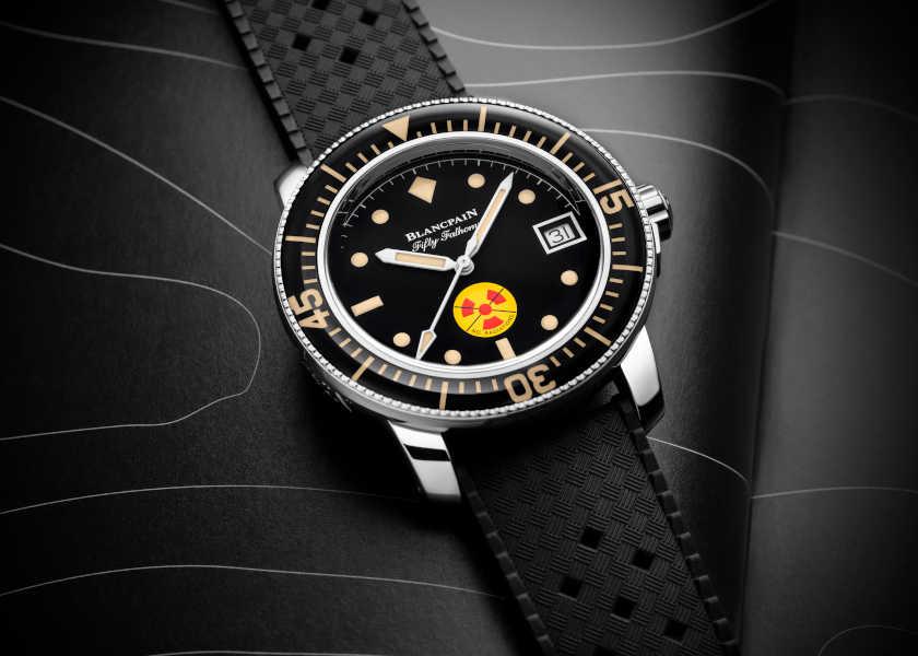 〈ブランパン〉限定復刻時計に放射線マークがある理由とは?