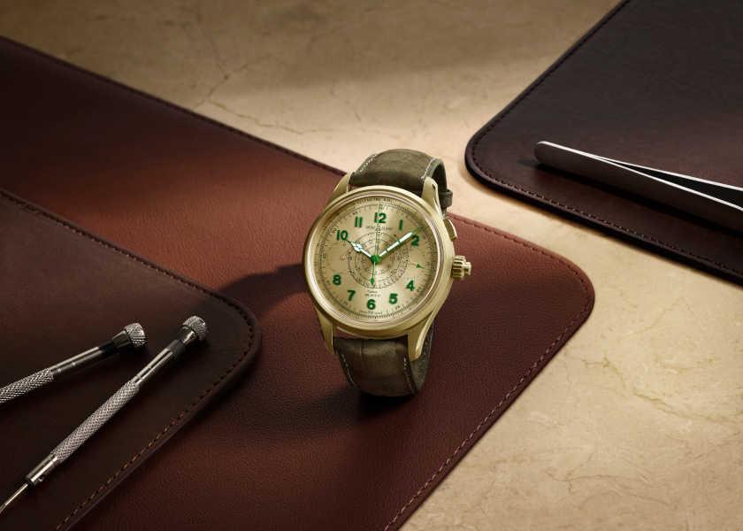 その手があったか!〈モンブラン〉の絶妙グリーン時計!