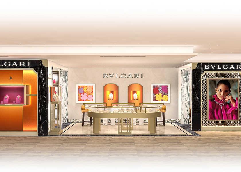 〈ブルガリ〉銀座三越店がリニューアルオープン!イタリアの美を凝縮した店内にウットリ