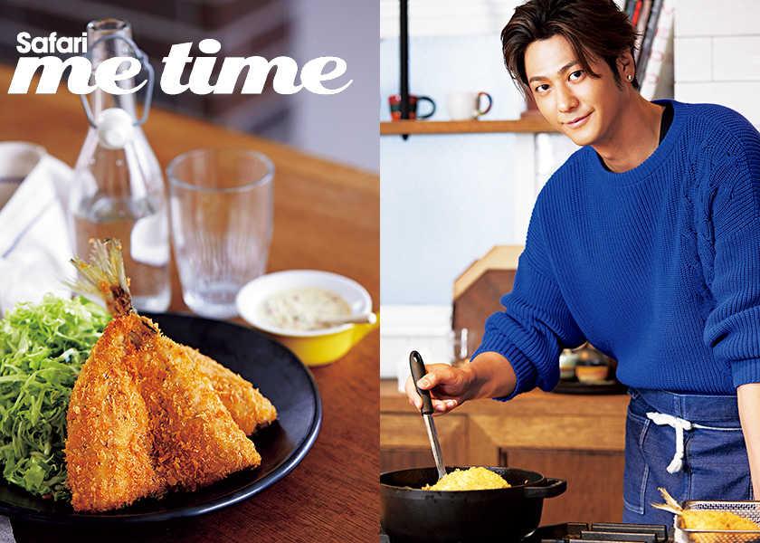 "Hayami's Main Dish""速水もこみち流""の ひと味違う家庭料理。【アジフライ編】"