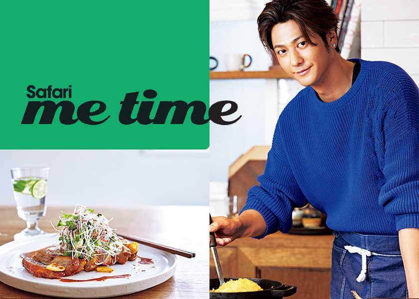 "Hayami's Main Dish""速水もこみち流""の ひと味違う家庭料理。【和風ポークステーキ編】"