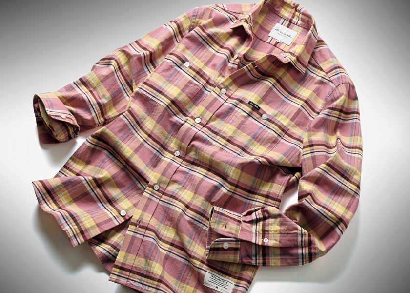 """FOCUS ON 今月注目したいモノ・コト〈トラヴィスマシュー〉西海岸好きの""""帰巣本能""""を掻き立てるチェックシャツ!"""