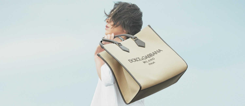週末の相棒にしたい〈ドルチェ&ガッバーナ〉の新作!休日カジュアルの品はバッグで決まる!