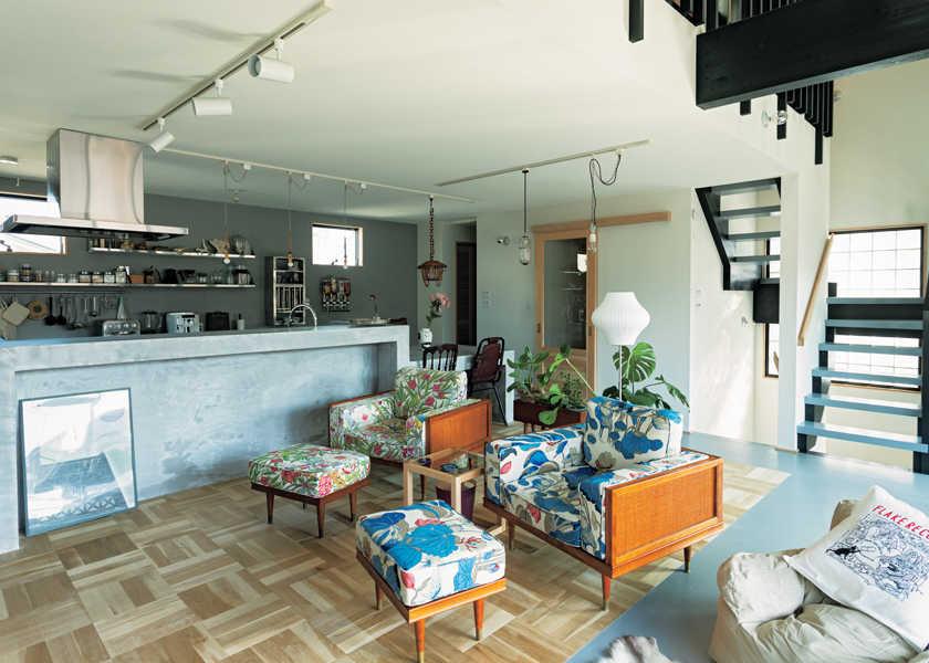 西海岸的なハッピー・ルーム! vol.25インダストリアルな空間に好きなものをちりばめた家