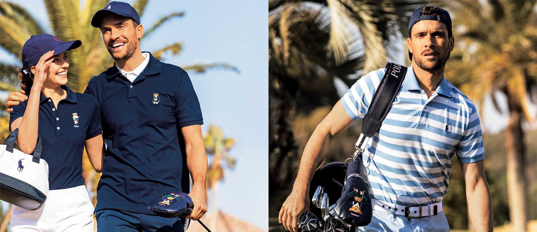 夏のゴルフは〈ラルフ ローレン〉の定番で!アメカジゴルファーなら王道ポロシャツを着る!