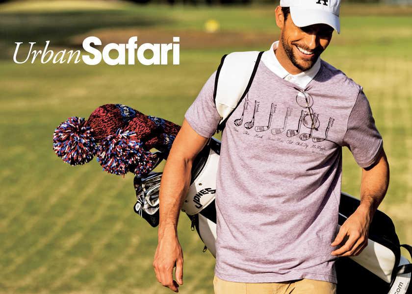 """グリーンでもカジュアル化が進んでいるようです。""""お洒落で快適""""がスコアに出るゴルフスタイルの新基準。"""