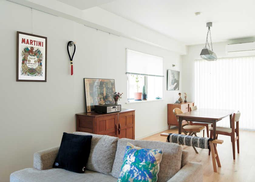 西海岸的なハッピー・ルーム! vol.27光が映える白を基調としたリラクシー感あふれる家