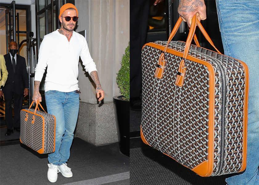 ベッカムが愛用する、 上質極まるバッグの正体とは?