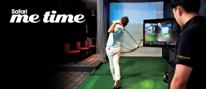 プロ仕様を手掛ける〈クレイジー〉で感動のゴルフ体験を。職人技のシャフトは飛距離が違う。